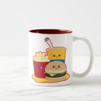 Alimentos de preparación rápida taza de café