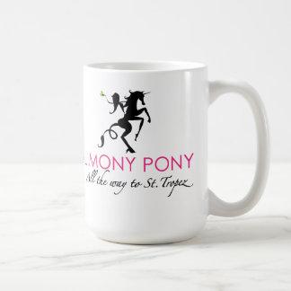 Alimony Pony All The Way To St. Tropez Mug