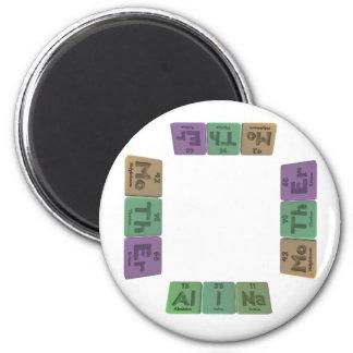 Alina as Aluminium Iodine Sodium Magnet