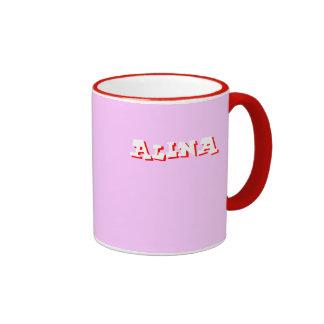 Alina pink mug