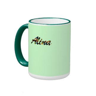 Alina's coffee mug