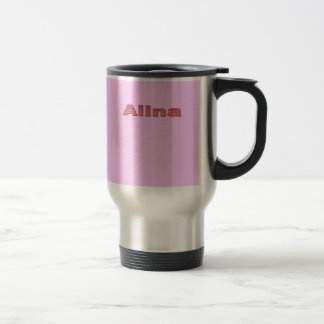 Alina's travel mug stainless steel travel mug