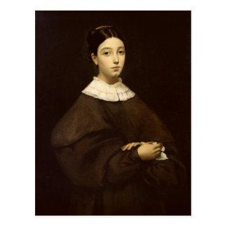 Aline Chasseriau  1835 Postcard