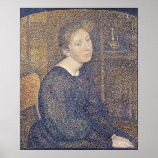 Aline Marechal  1892 Poster