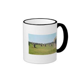 Alineación de piedras derechas, megalítica taza de café