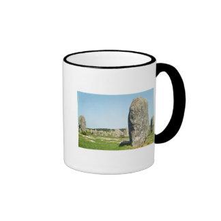 Alineación de piedras derechas, megalítica tazas de café