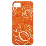 Alinee un Honu anaranjado iPhone 5 Fundas