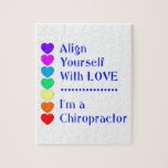 ¡Alinéese con amor - soy Chiropractor! Puzzles
