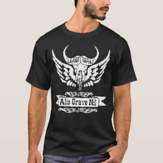 ALIS GRAVE NIL,nothing IS heavy with wings,TATTOOS T-Shirt
