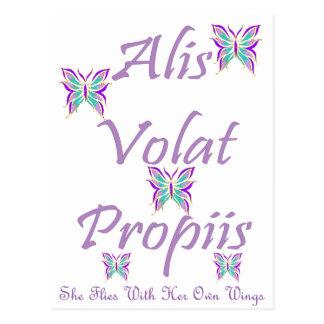 Alis Volat Propiis Postal