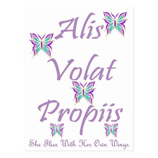 Alis Volat Propiis Tarjetas Postales