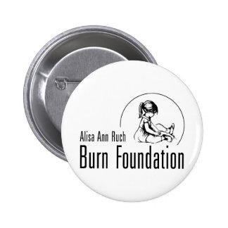 Alisa Ann Ruch Burn Foundation Gifts 2 Inch Round Button
