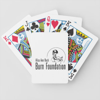 Alisa Ann Ruch Burn Foundation Gifts Bicycle Playing Cards