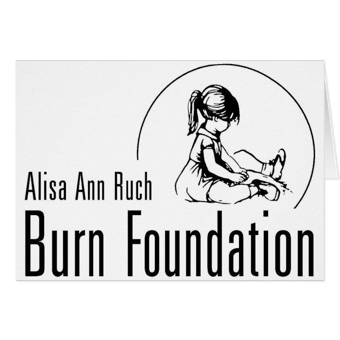 Alisa Ann Ruch Burn Foundation Gifts Card