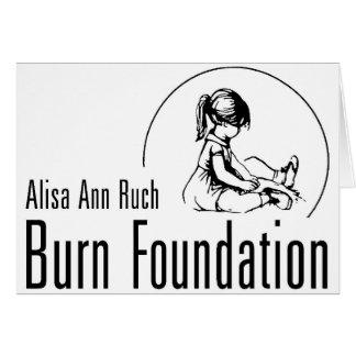 Alisa Ann Ruch Burn Foundation Gifts Greeting Card