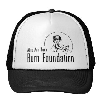 Alisa Ann Ruch Burn Foundation Gifts Trucker Hats
