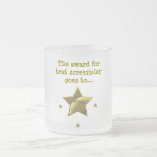 ALISA: El premio para el mejor guión Taza De Cristal