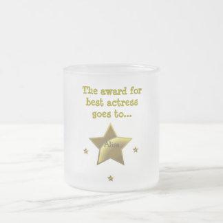 ALISA: El premio para la mejor actriz Taza De Cristal