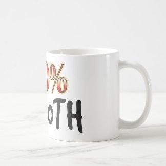 Alise el 100 por ciento taza de café