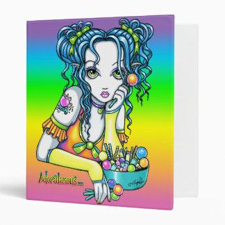 """""""Alisha"""" Candy Rainbow Fairy Binder"""
