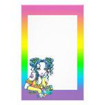 """""""Alisha"""" Candy Rainbow Fairy Stationery"""