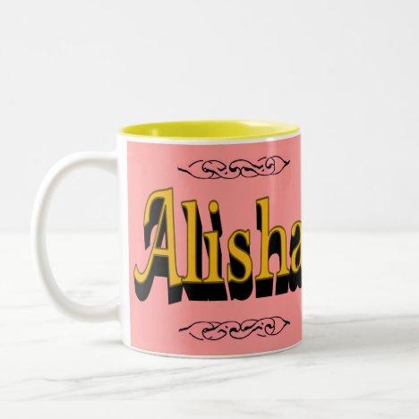 Alisha Mug