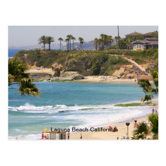 Aliso Beach California Postcard