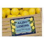 Aliso Lemons in a Crate Card