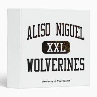 Aliso Niguel Wolverines Athletics 3 Ring Binder