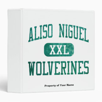Aliso Niguel Wolverines Athletics Binder