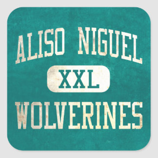 Aliso Niguel Wolverines Athletics Square Sticker