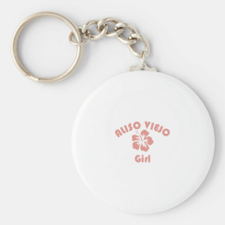 Aliso Viejo Pink Girl Keychains