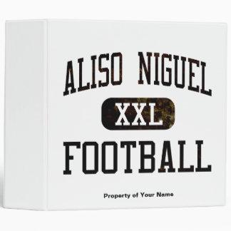 Aliso Viejo Wolverines Football 3 Ring Binder