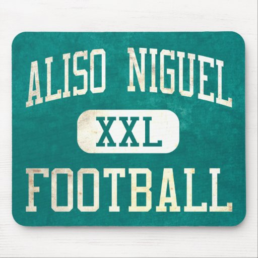 Aliso Viejo Wolverines Football Mouse Pad