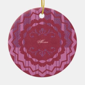 Alison Ornamento Para Arbol De Navidad