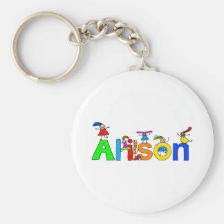 Alison Keychain