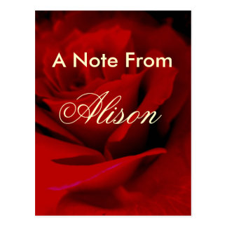 Alison Postcard