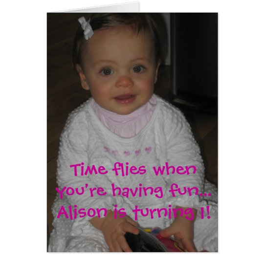 Alison's card