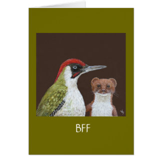 Alistair and Mooney BFF card