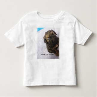 Alistair - Tell Me You Love Me Toddler Tee