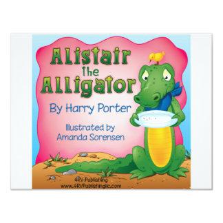 Alistair the Alligator Card