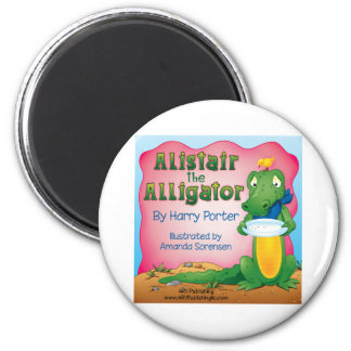 Alistair the Alligator Magnet
