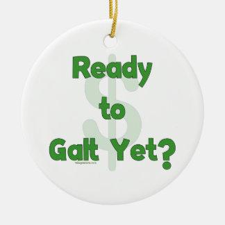 Aliste a Galt todavía Ornamento De Navidad