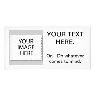 ¡Aliste corregir personalizar le hacen el suyo Plantilla Para Tarjeta De Foto