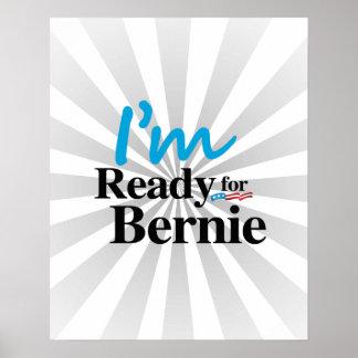 Aliste para Bernie 2016 Póster