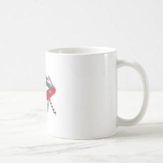 Aliste para cualquier cosa taza básica blanca