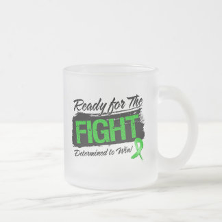 Aliste para el cáncer del riñón de la lucha taza de café