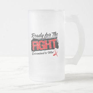 Aliste para el cáncer oral de la lucha taza de café