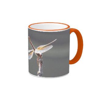 Aliste para el despegue taza de dos colores