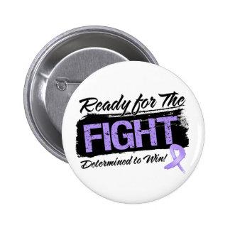 Aliste para el general Cancer de la lucha Pin Redondo De 2 Pulgadas